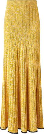 Joseph Sally Cotton Viscose Rib Skirt