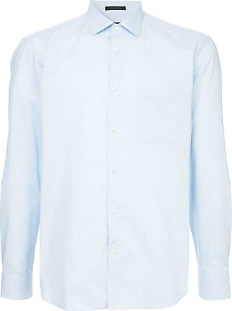 Durban Camisa lisa - Azul