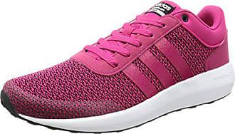 detailed look 82abc 60b3b adidas Damen Cloudfoam Race W Sneaker Low Hals Pink rosfueftwbla, 36 EU