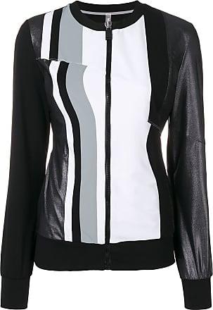 No Ka'Oi striped performance jacket - Black