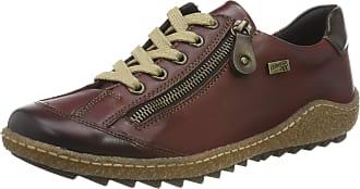 Remonte Womens R4703 Low-Top Sneakers, Red (Medoc/Antik/Medoc 36), 3.5 UK