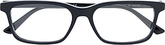 Bottega Veneta Armação de óculos retangular - Azul