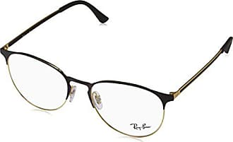 08c29ad505 Ray-Ban 0Rx6375, Monturas de Gafas Unisex Adulto, Negro (Gold Top In