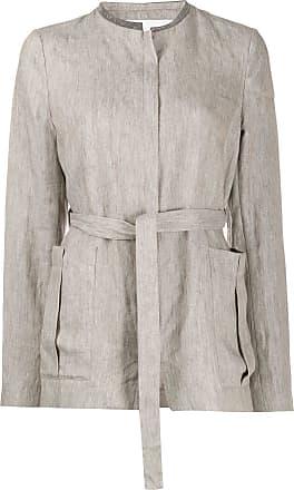 Fabiana Filippi tie-waist jacket - NEUTRALS