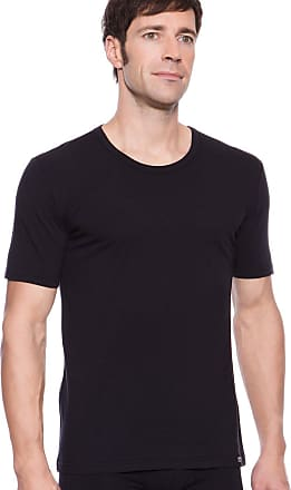 Jockey Mens USA Originals Cotton Stretch T-Shirt 2 Pack (Black/XL)