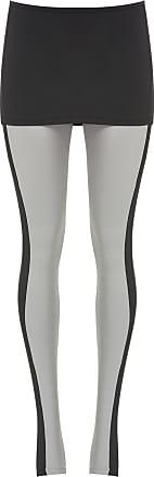 BALLETTO Calça Legging Bio Attivo Sottile Faixa Lateral Cinza - Mulher - P BR