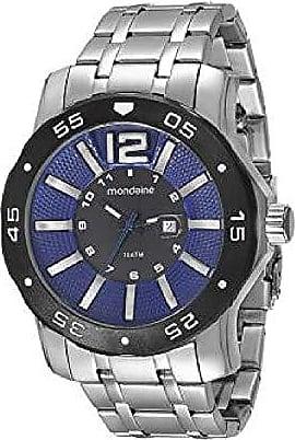 Mondaine Relógio masculino mondaine prateado ultrasize 94851G0MVNA2