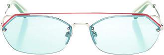 Diesel Sunglasses With Double Bridge Mens Blue