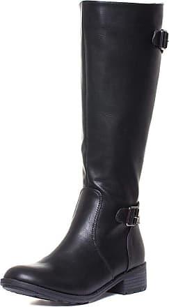 Lotus Beal Womens Black Matte Long Leg Riding Boot - Size 4 UK - Black
