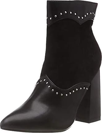 2bbd54cd1fbd5 Lost Ink. Jaime Mix Material Ankle Boot, Bottines Femme (Black 0001),