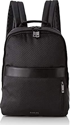 66c6bbb0 Guess Global Functional BackpackHombreMochilasNegro (Black)12x39x29  centimeters (W x H x L)