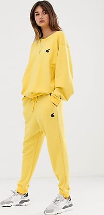 Vivienne Westwood logo badge joggers co-ord-Yellow