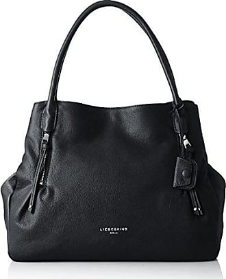 a28ab7481ae Liebeskind Womens Sierra Oversized Leather Satchel, Black