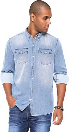 9884a83f0d Hering Camisa Hering Regular Estonada Azul