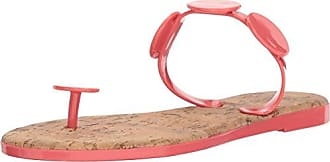 Bernardo Womens New Moon Jelly Flip-Flop, Pink Rubber, 11M M US