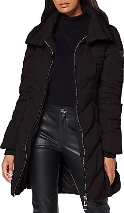 Guess Womens Payton Down Jacket Coat, Black (Jet Black A Jblk), Medium