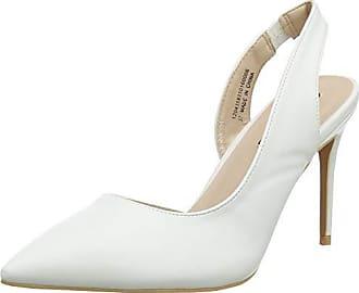 1498d8a7 Lost Ink. WF Janet Mid Heel High Vamp Sling, Zapatos con Tira de Tobillo