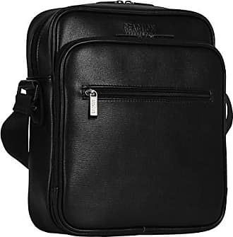 Kenneth Cole Reaction Kenneth Cole Reaction Top Zip Crossbody Tablet Bag with RFID Travel Cross-Body, Black One Size