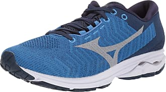 Mizuno Mens Wave Rider 23 WAVEKNIT Running Shoe, Campanula-Vapor Blue, 10.5 UK Wide