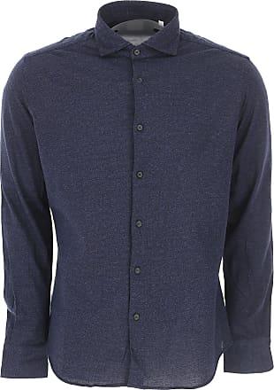 Xacus Shirt for Men On Sale, Dark Blue, Cotton, 2017, 15 16 16.5 17