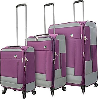 Pink Mia Toro M1135-20in-pnk Italy Ischia Softside Spinner 20 Carry-on