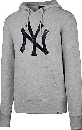 47 Brand 47 MLB New York Yankees Knockaround HEADLINE Pullover Hood - Brushed Fleece Hoodie Polycotton Blend - Distressed Print Officially Licensed Premium Qua