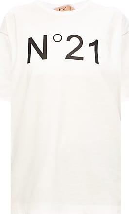 N°21 T-shirt With Logo Womens Multicolor