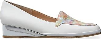 Van Dal Womens Verona III Low Wedge Loafer, Meadow Print/White, Size 5.5 UK