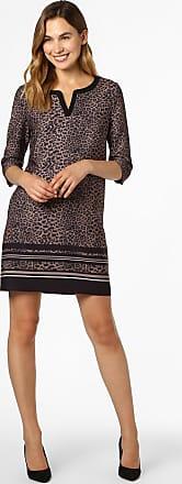 Comma Damen Kleid braun