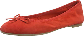 Marco Tozzi Womens 2-2-22144-32 Ballet Flats, Red (Red 500), 6.5 UK