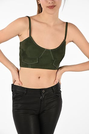 Drome Suede Leather Crop Top size S