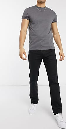 Wrangler Texas - Jeans regular fit dritti nero raven