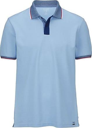 Olymp Level Five Casual Polo-shirt, body fit, Hellblau, XL