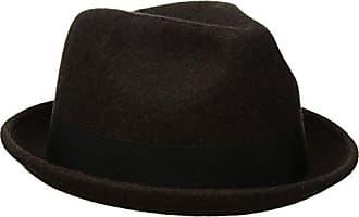Goorin Brothers Mens Good Boy Wool Flip Up Fedora Hat, Coffee, Large