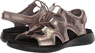 3ea9fc2e51f1 Ecco Womens Womens Soft 5 Toggle Sandal Warm Grey Metallic 35 M EU (4