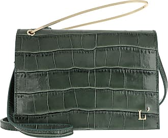 L'autre Chose Cross Body Bags - Printed Crossbody Bag Sage Green - green - Cross Body Bags for ladies