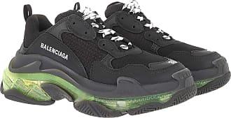 Balenciaga Sneakers - Triple S Sneaker Black/Yellow - black - Sneakers for ladies