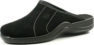 Rohde 2754-90 Vaasa-H Mens Slippers, Size:10.5 UK, Colour:Black