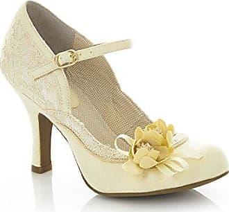 ba63ff18b26eca Ruby Shoo Damen Pumps Silvia Florale Riemchen Schuhe Geschlossen (37