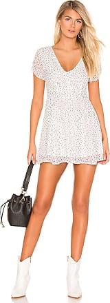 Superdown Alexandria Mini Dress in White