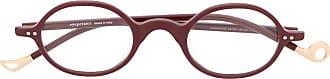 Eyepetizer Armação de óculos redonda Rosewood - Roxo