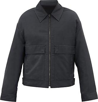 Raey Patch-pocket Technical Jacket - Mens - Dark Green