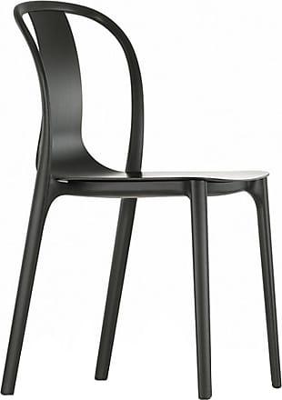 Vitra Belleville Side Chair Black
