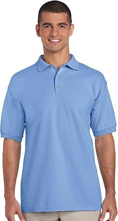 Gildan Gildan Mens Polo Shirt - Blue - XL