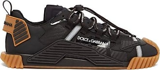 Dolce & Gabbana Ns1 Logo-embossed Mesh Trainers - Mens - Black