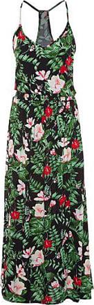 Market 33 Vestido Longo Estampado Market 33 - Preto