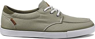 Reef Mens Deckhand 3 Low-Top Sneakers, Green (Seagrass Seg), 10 UK