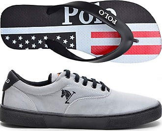 Polo Joy Tênis Masculino Polo Joy Sapatênis Casual C/Chinelo (46)