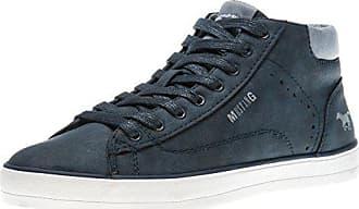 Mustang Shoes High Top Sneaker in Übergrößen Navy 1267-501-820 große  Damenschuhe, c5d268e631