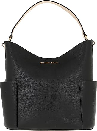 Michael Kors Hobo Bags - Bedford MD Bucket Shoulder Bag Black - black - Hobo Bags for ladies
